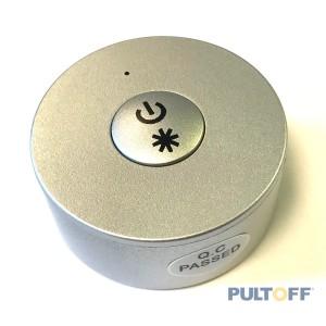 SR-2807N silver een knop, easy dimmer , Sunricher