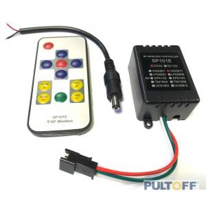 SP101E DC 5V / WS 2811 RF wireless controller