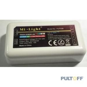 RGBWW, FUT039, 2.4G RF, 5CH,12-24V, Mi-Light