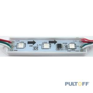WS2811 12V RGB IP67 3PIN SPI