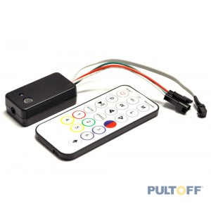 SPI, Muziek controller 200 pixel,lan, R/C, 5-12 Volt, DISCOLUX